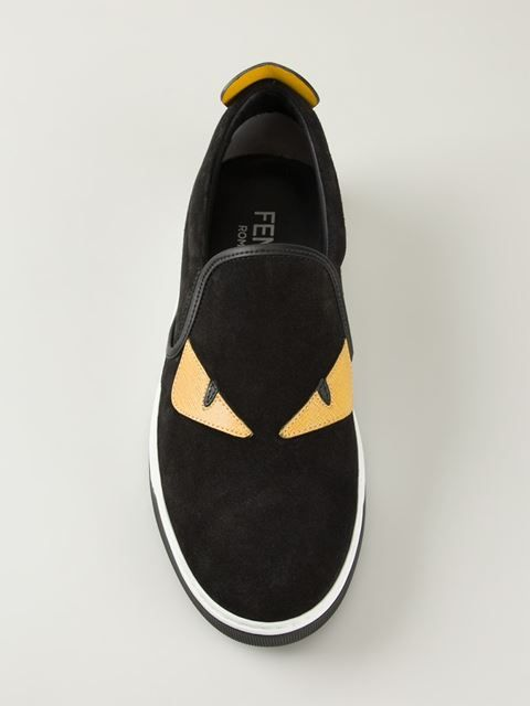 5ee256615 Fendi Bag Bugs slip-on Sneakers | Sneaker Snub | Hipster shoes ...