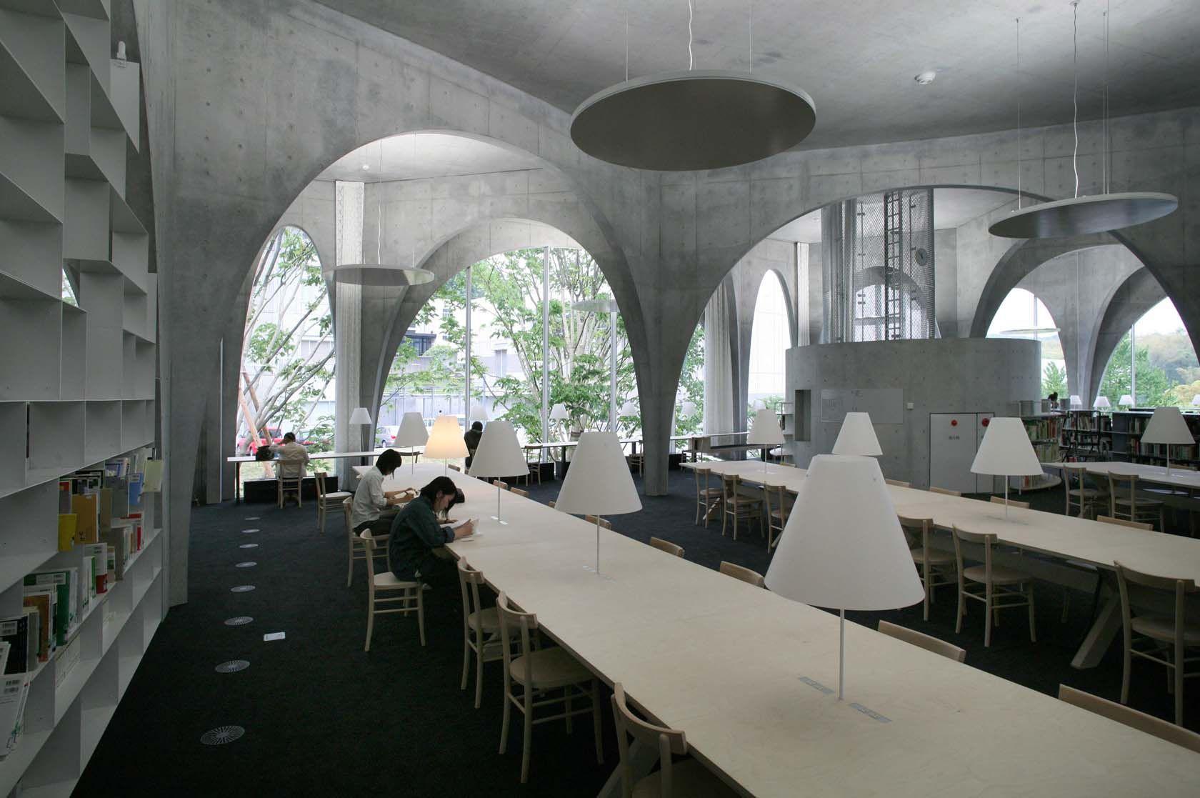 Tama Art University Library Hachioji Campus Shi Tokyo Japan Photo By Tomio Ohashi