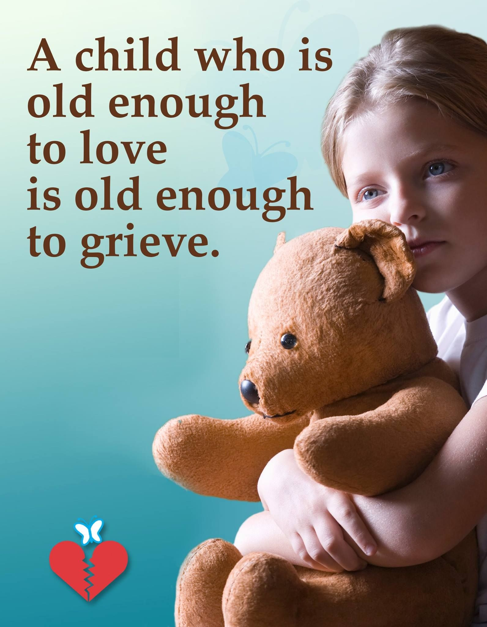 Children Grieve Too With Images