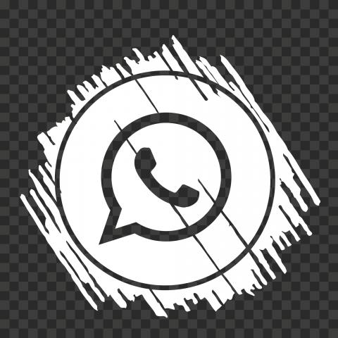 Hd White Scribble Art Outline Whatsapp Wa Icon Png Scribble Art Art Outline