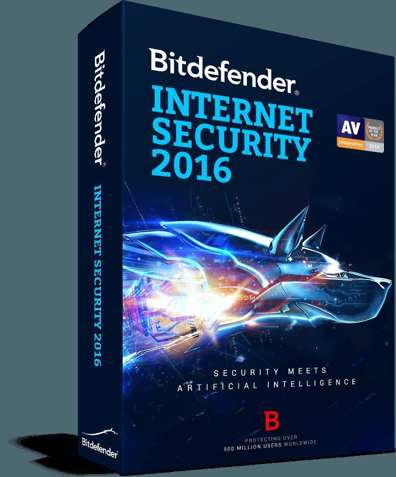 Bitdefender Security 2016 Full Protection 1 Year