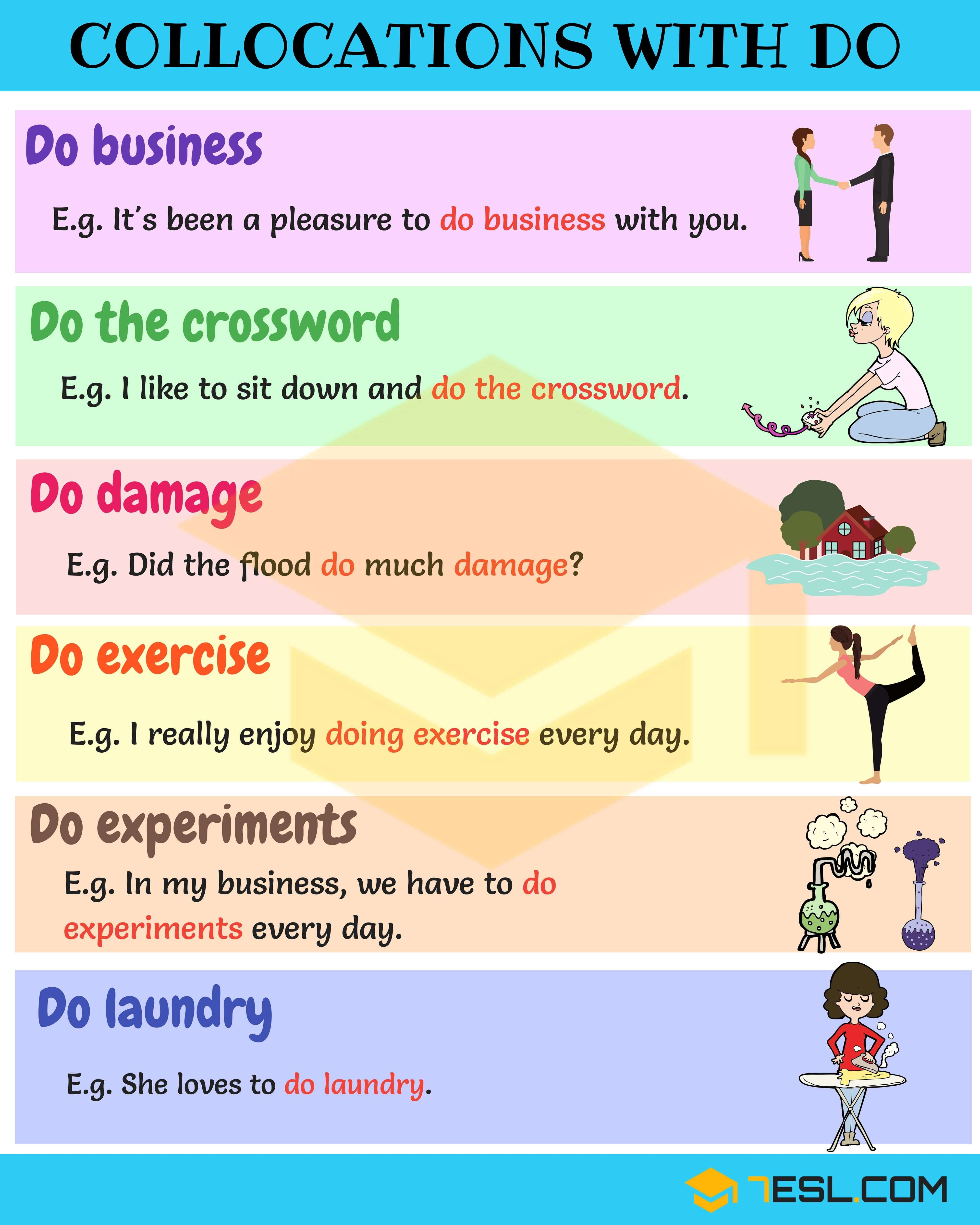 How to use Play, Do and Go | Learn English
