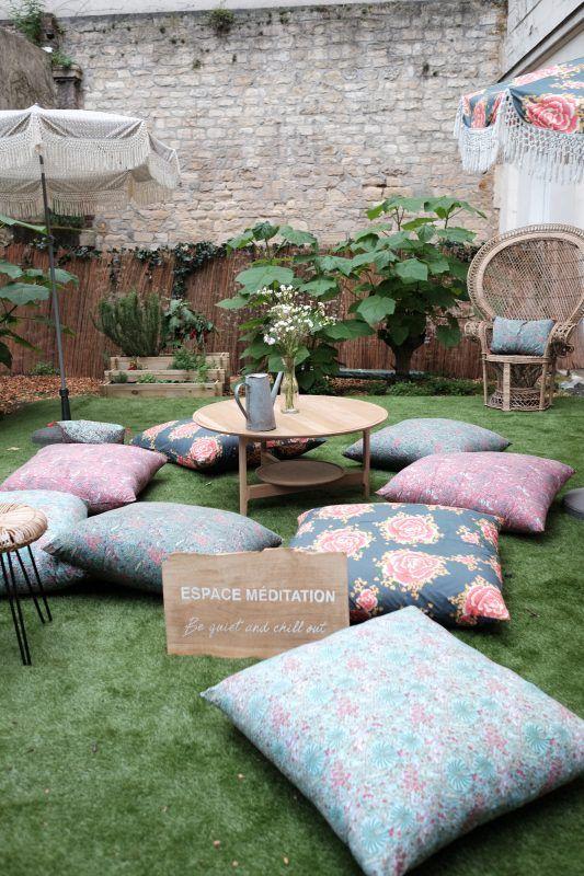 La maison de vacances de my little paris deedee 2 coussin - My little jardin ...