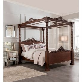 Lincoln Four Poster Antique French Style Bed Beds Pinterest