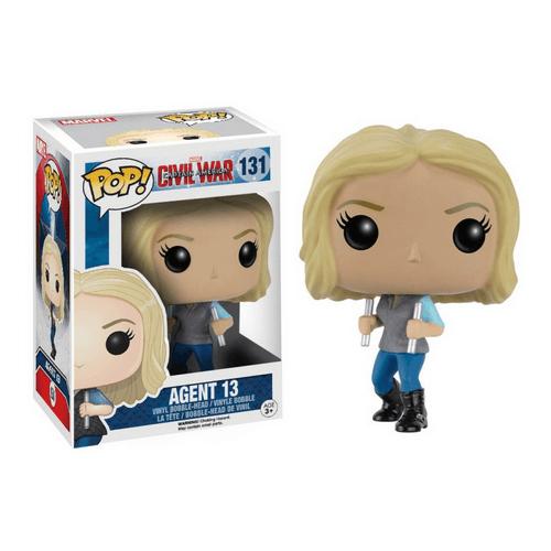 Figurine Pop! Captain America Civil War Agent 13