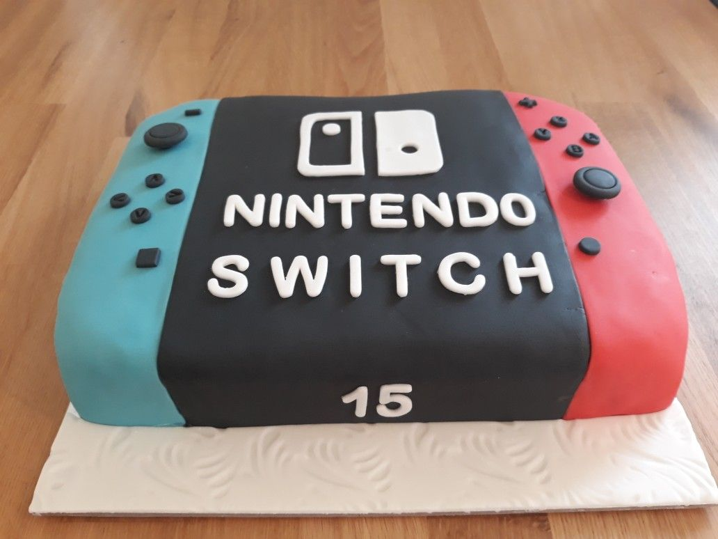 Nintendo Switch Games Console Cake For 15th Birthday In 2020 With