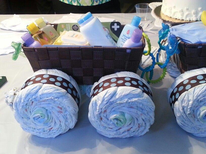 Quad diaper cake trailer Lala's Specialties Pinterest