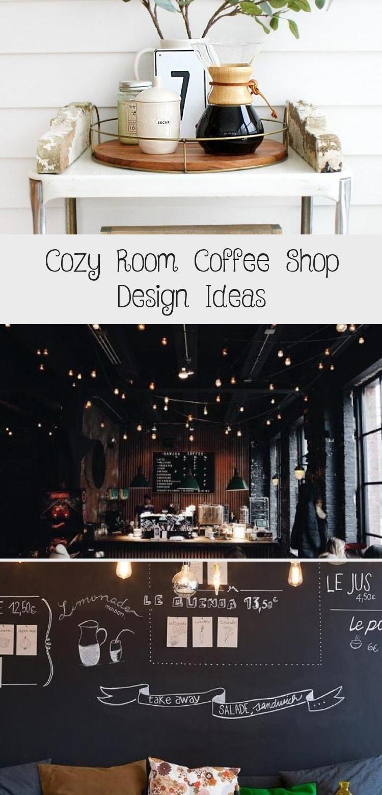 COZY ROOM COFFEE SHOP DESIGN IDEAS - Interior Design Ideas & Home Decorating Inspiration - moercar #interiordesignEclectic #Vintageinteriordesign #interiordesignDrawings #interiordesignContemporary #interiordesign2019