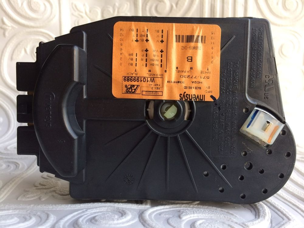 W10199989 Kenmore Whirlpool Washer Timer Free U S A