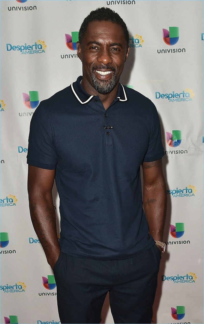 fd183b589 Idris Elba Makes a Case for Burberry s Polo Shirts