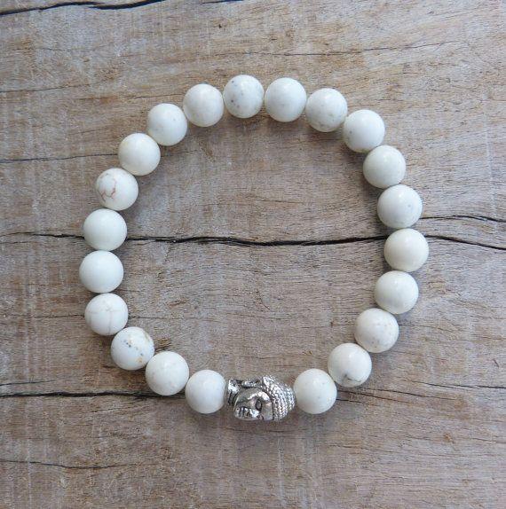 buddha bracelet  beachcomber yoga by the sea  by beachcombershop//