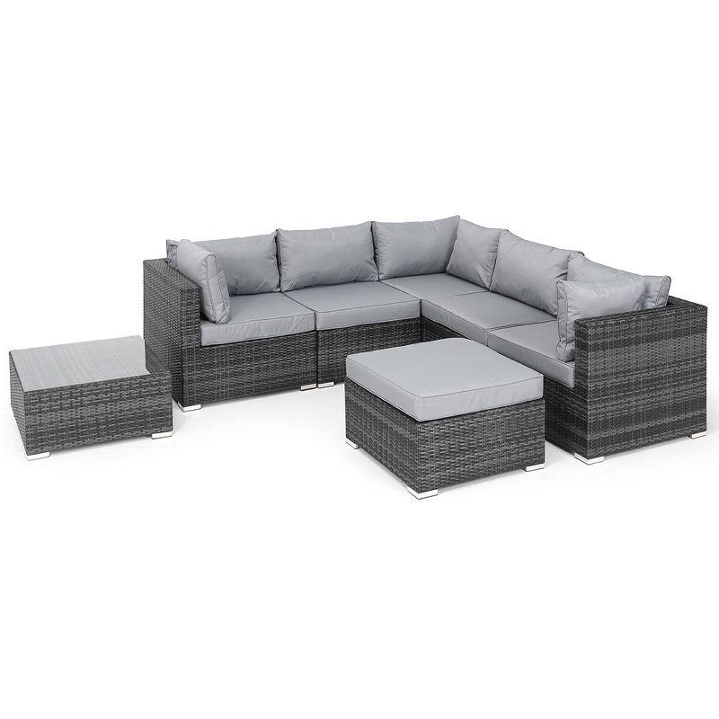 Awe Inspiring Nova Chelsea Rattan Corner Sofa Set Garden Rattan Ncnpc Chair Design For Home Ncnpcorg