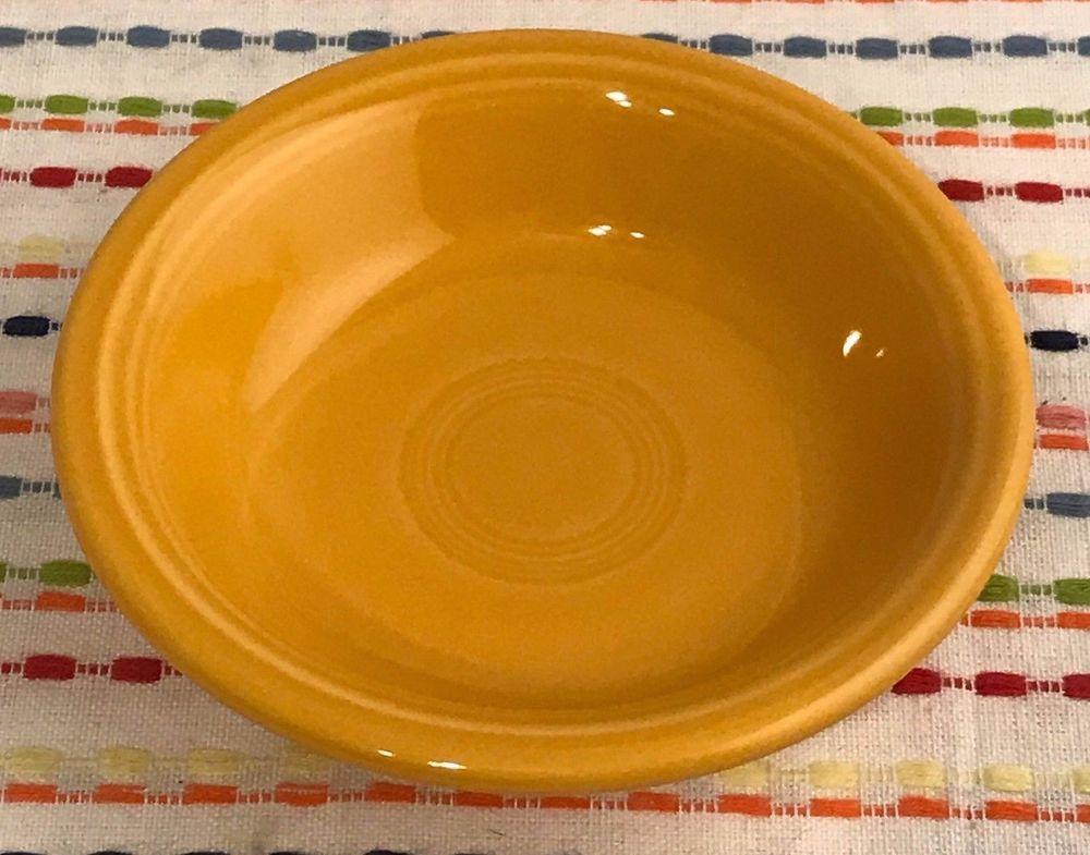 Fiestaware Marigold Fruit Bowl Fiesta Small Retired Orange Dish NEW ...