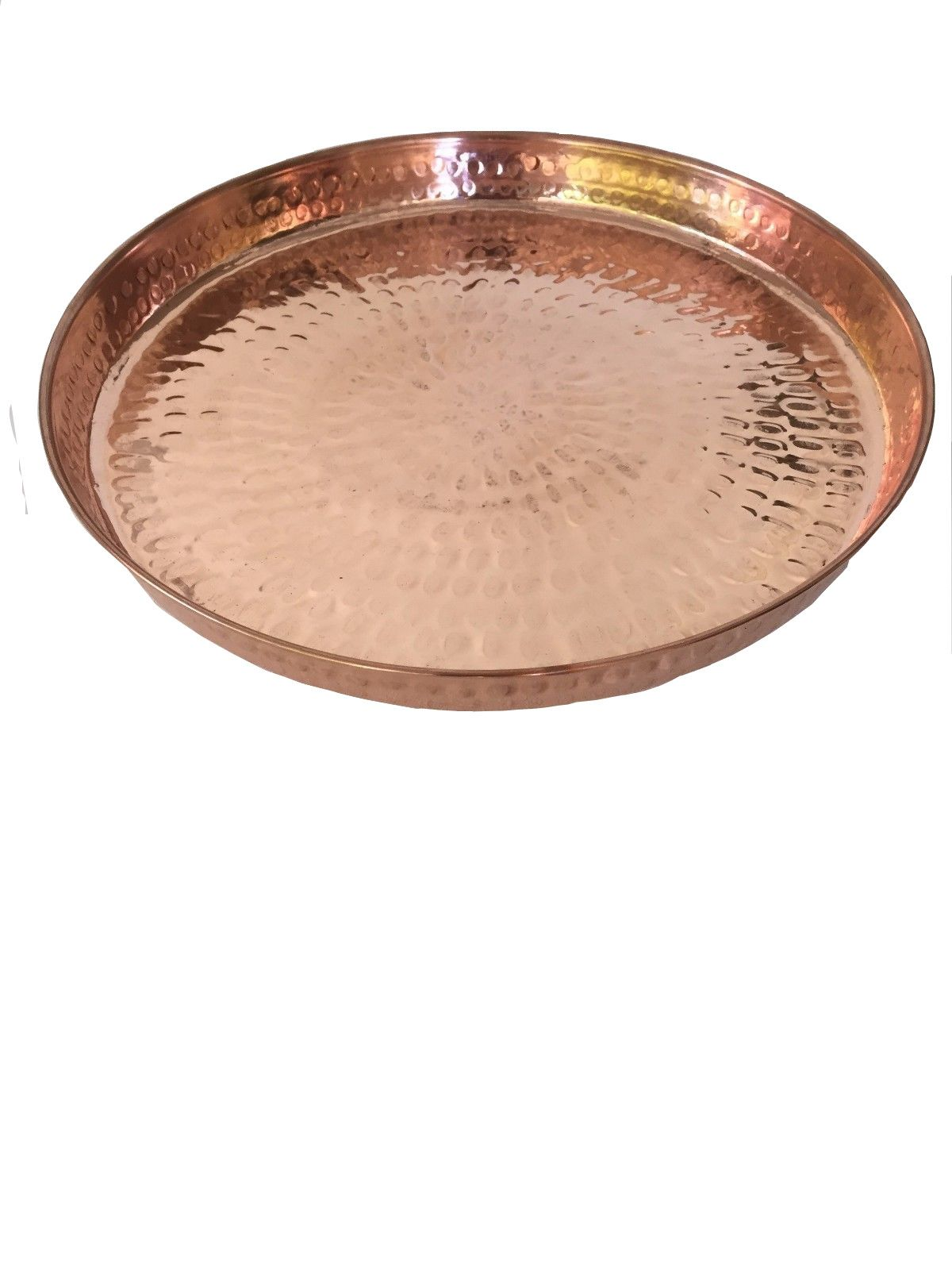 Entertain In Style With The Hammered Copper Round Serving Tray Perfect To Display On A Buffet Table Or On Top Of A Bar Ca Round Serving Tray Serving Tray Tray