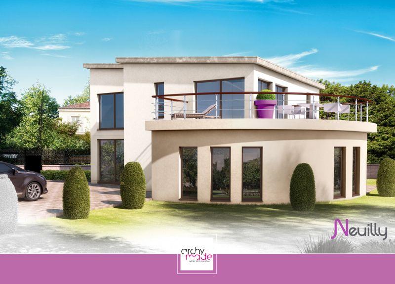 Modèle : Neuilly Villa T6 / Surface Habitable : 168,92M2 / Surfaces