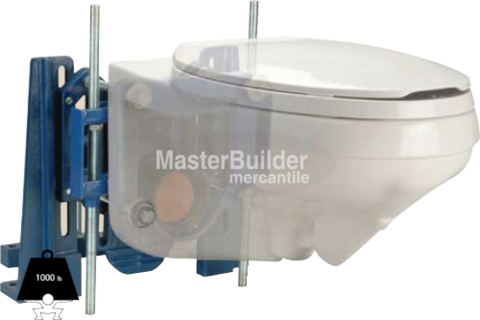 Zurn Z1203 N XB Bariatric Water Closet Carrier 1,000 Lb. Adjustable  Horizontal Siphon