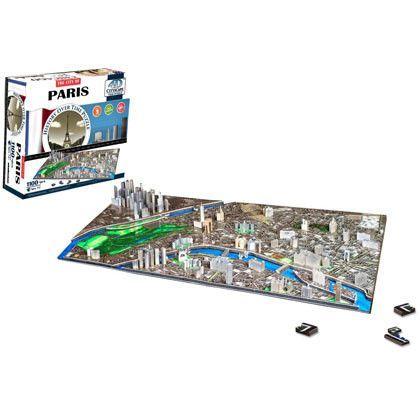Paris 4D Cityscape Puzzle