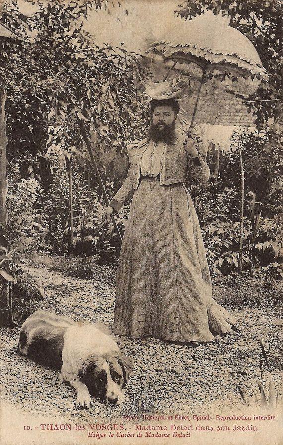 1910sBeautiful Edwardian LadyHair BowFlowers