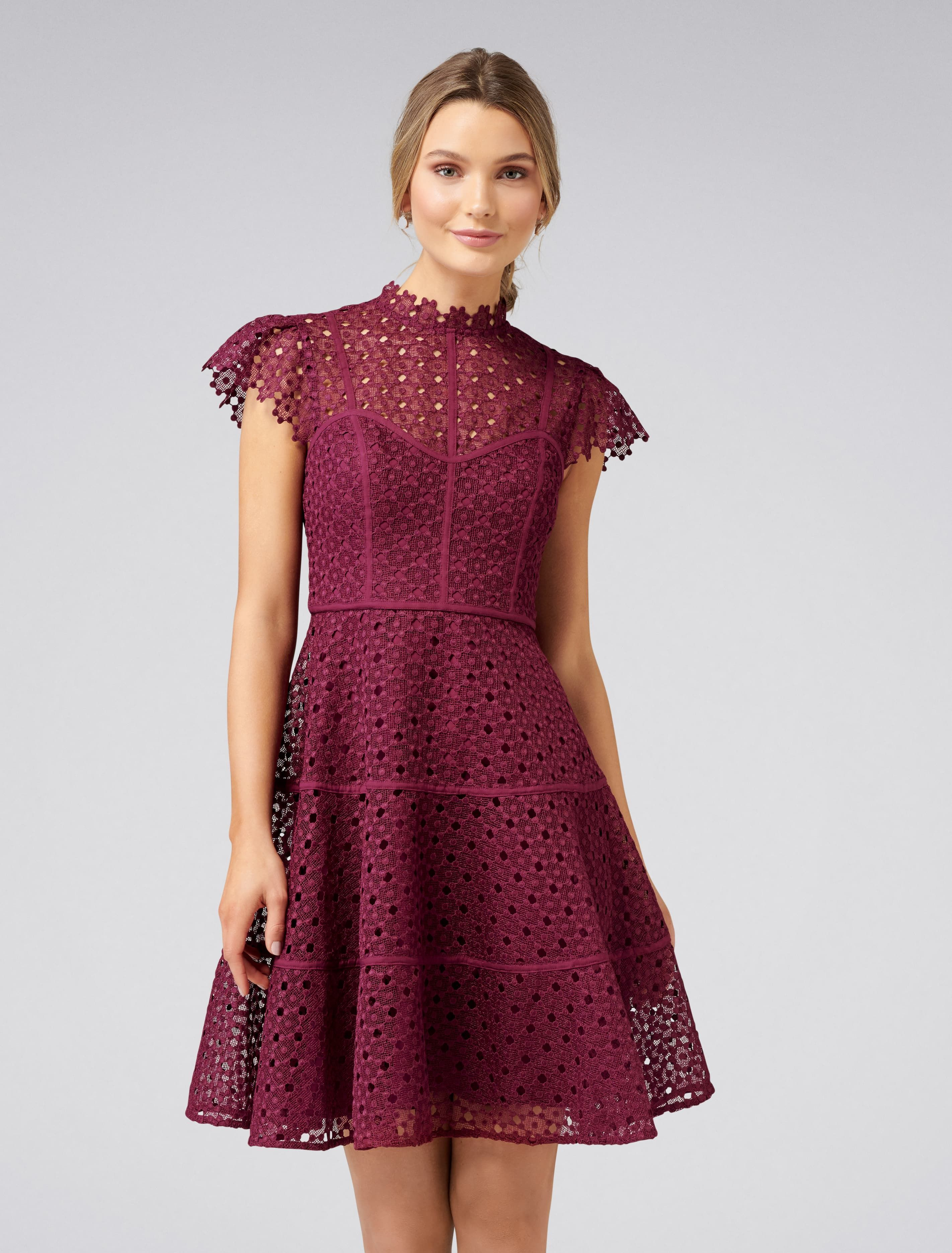68c6c1ee0afc Ella Lace Skater Dress - Women's Fashion | Forever New | My Style in ...