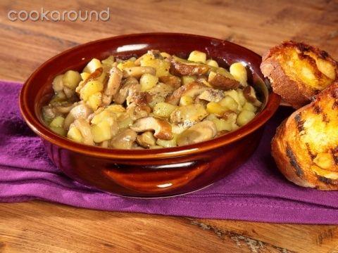Zuppa porcini e patate   Cookaround