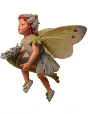 Cicely Mary Barker Chicory Flower Garden Fairy Ornament Figurine | eBay
