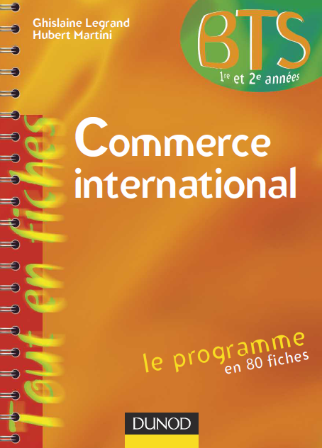 La Faculte Telecharger Commerce International Bts Commerce International Bts Commerce International Economics Books