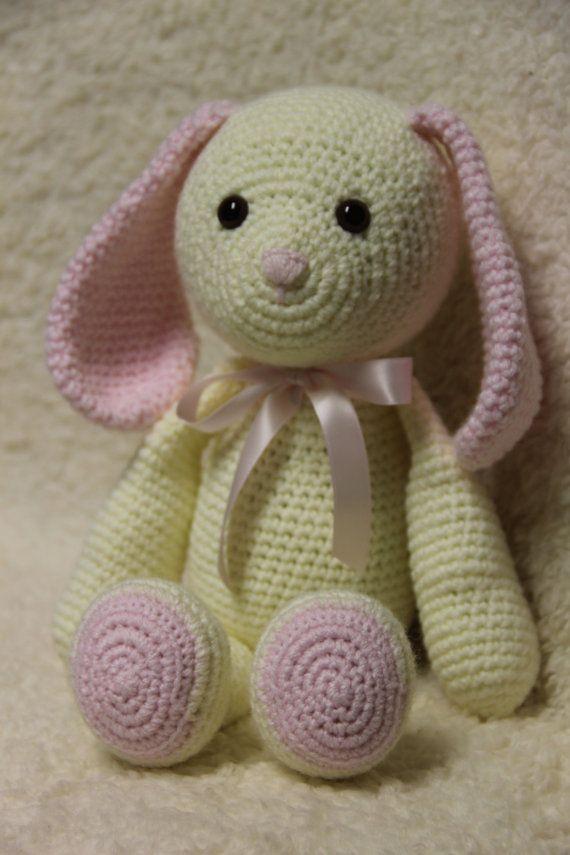 Easter Bunny/Pink Bunny/Lavender Bunny/Crochet by MrsVsCrochet ...