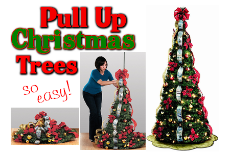 Pull Up Christmas Trees – Up in 5 minutes - Pull Up Christmas Trees €� Up In 5 Minutes ¶ Holidays: Pinterest