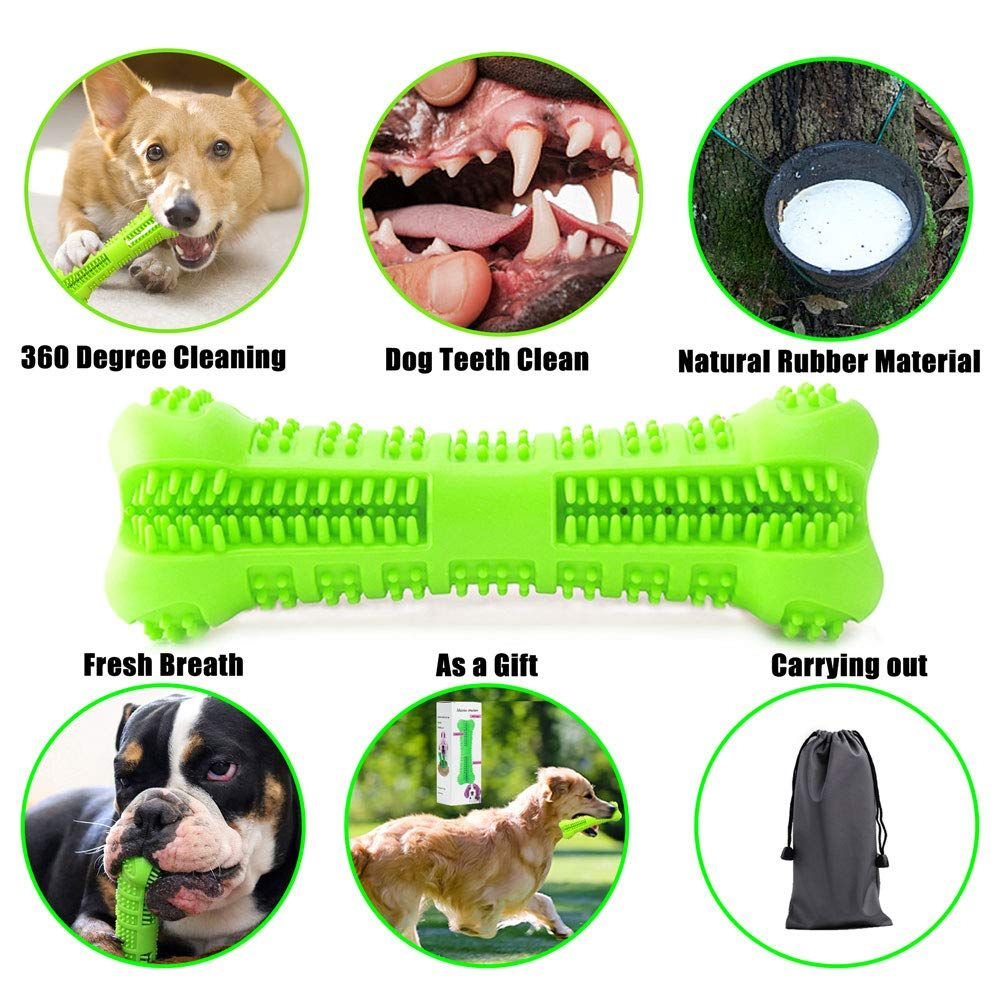 Dillitop Dog Toothbrush Stick Pet Dental Oral Care And Effective