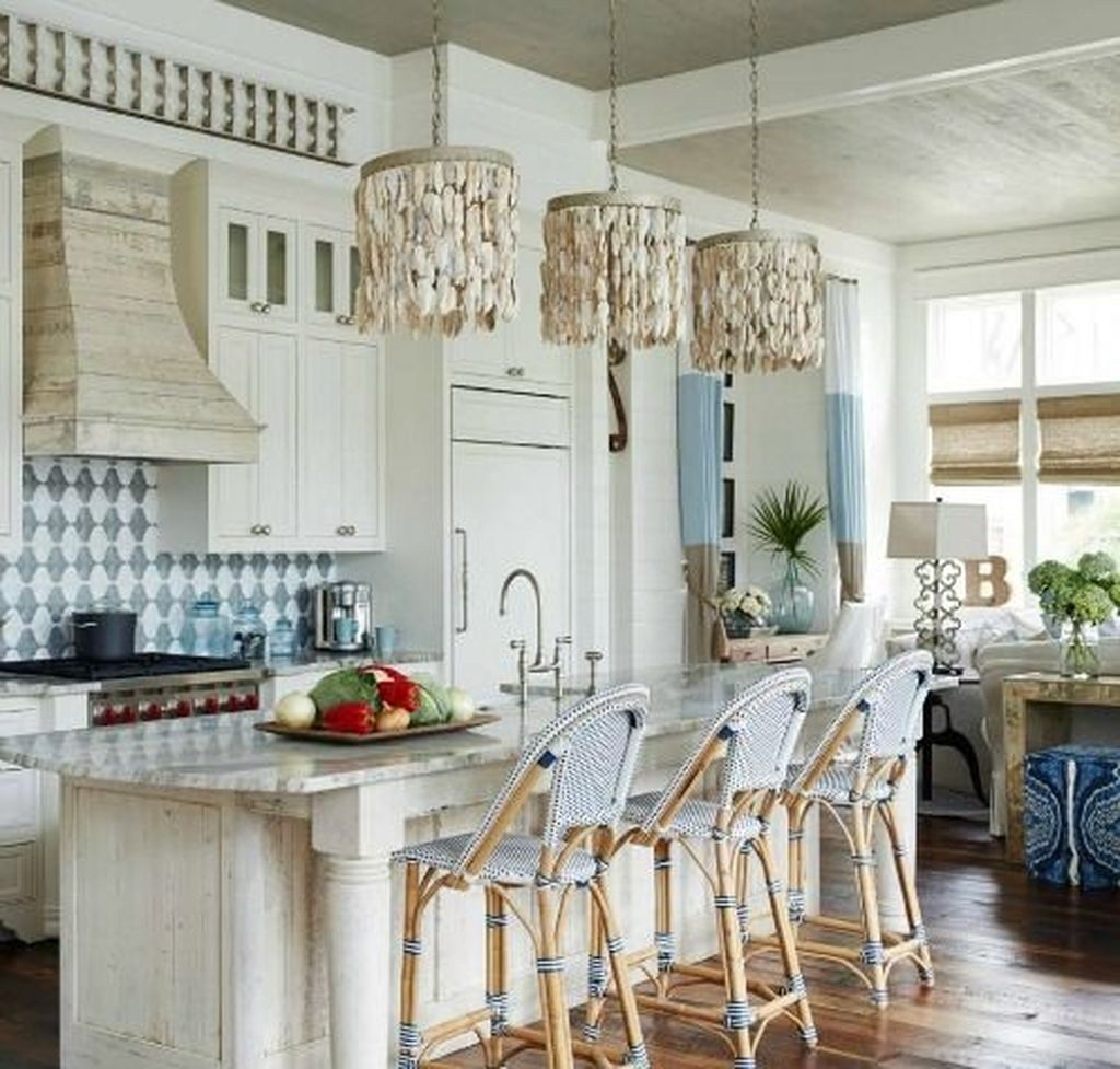Beach Coastal Style Kitchen Decor Ideas