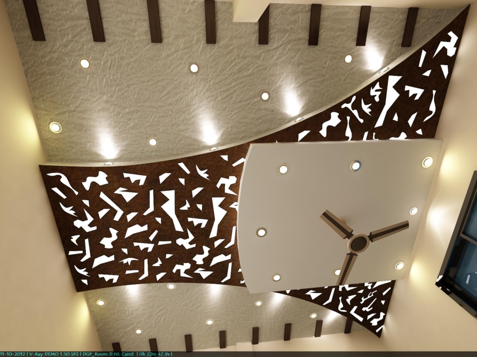 Simply Modified Pop False Ceiling Design False Ceiling Design False Ceiling #pop #design #in #living #room