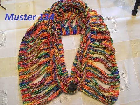 Berühmt Einfach Stricken Schal Muster Ideen - Schal-Strickende ...