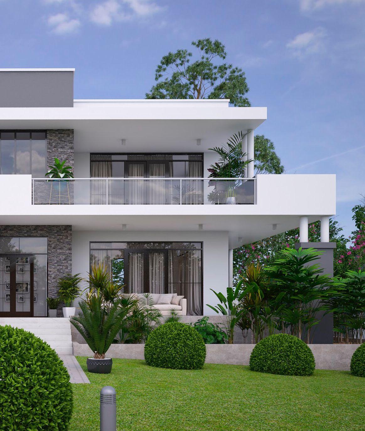 Fachada Casa Dos Pisos Idea 3 Fachadas De Casas Casas Luxuosas Fachadas De Casas Terreas