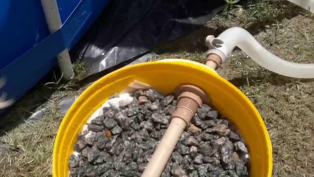 Filtro caseiro para piscinas e lagos filtro pr piscinas Piscinas para tilapias