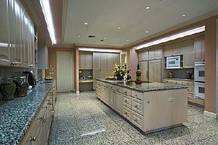Luxury Homes:Luxury Mansion Kitchen Design Area Shaquille O\'Neal\'s ...