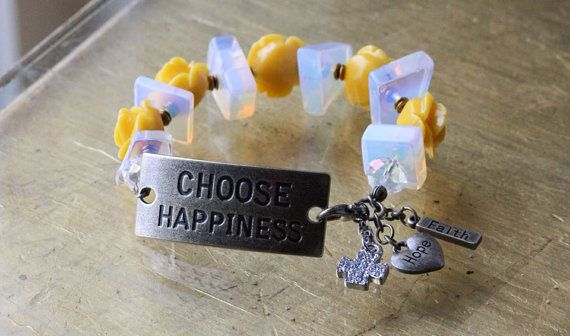 Choose Happiness  on Etsy, $30.00