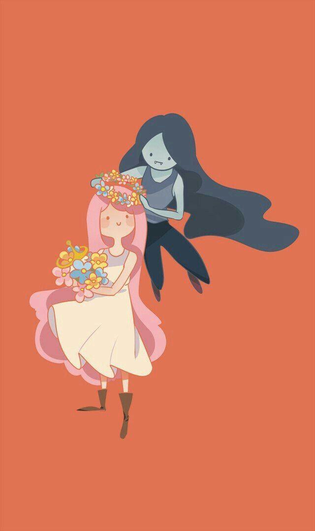 Adventure Time Princess Bubblegum Bonnibel Bonnie PB Marceline Abadeer Marcy Vampire Queen Bubbline SweeT