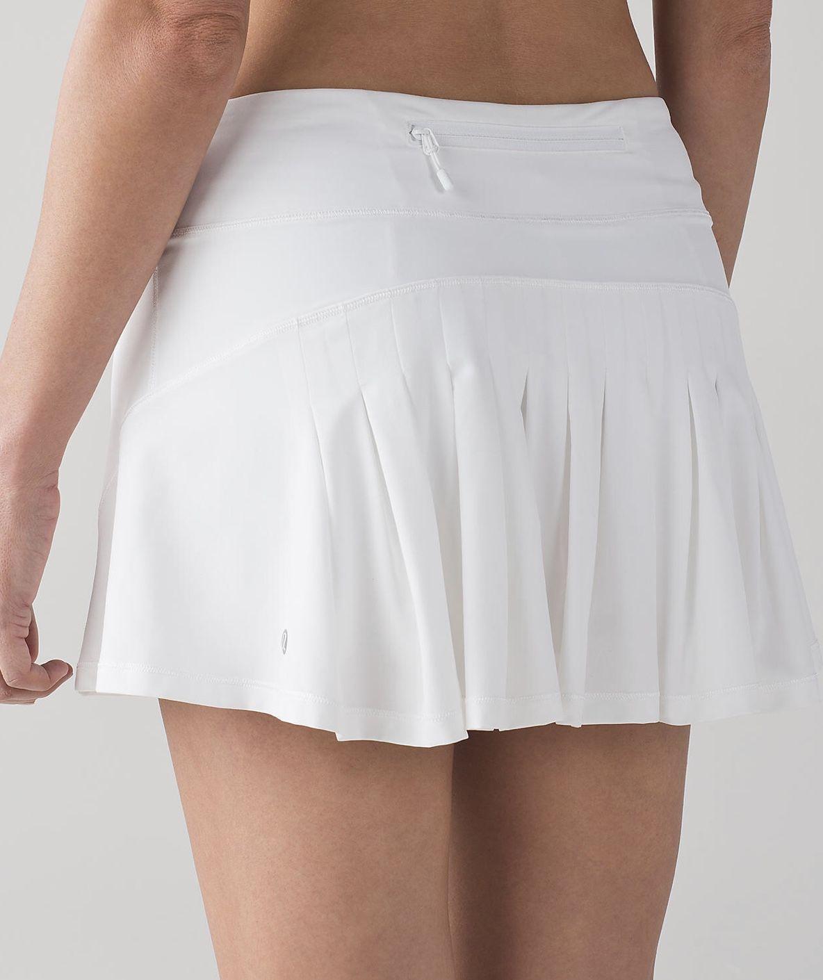 White Lululemon Tennis Skirt Tennis Skirt Outfit Lululemon Skirt Tennis White Tennis Skirt