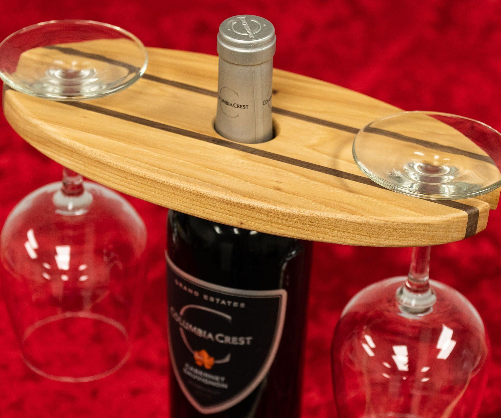 How To Make A Wine Bottle And Glass Display Wine Making Wine Bottle Wine Display