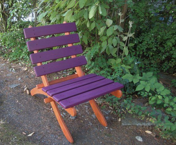 Incredible Two Color Classic Cedar Garden Chairs Deck Chairs Choose 2 Caraccident5 Cool Chair Designs And Ideas Caraccident5Info