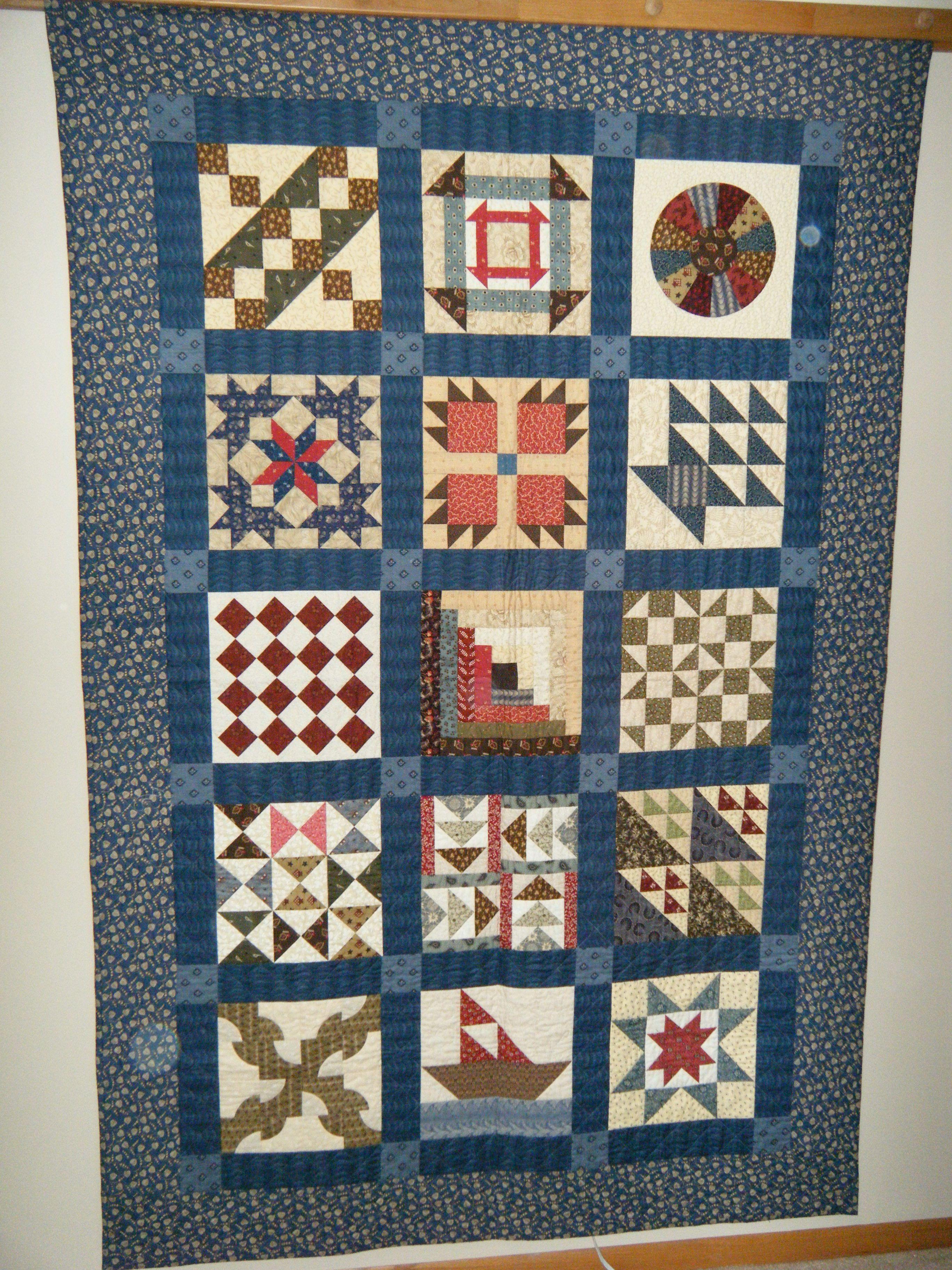 Underground Railroad Quilt Pattern By Eleanor Burns Amp Sue