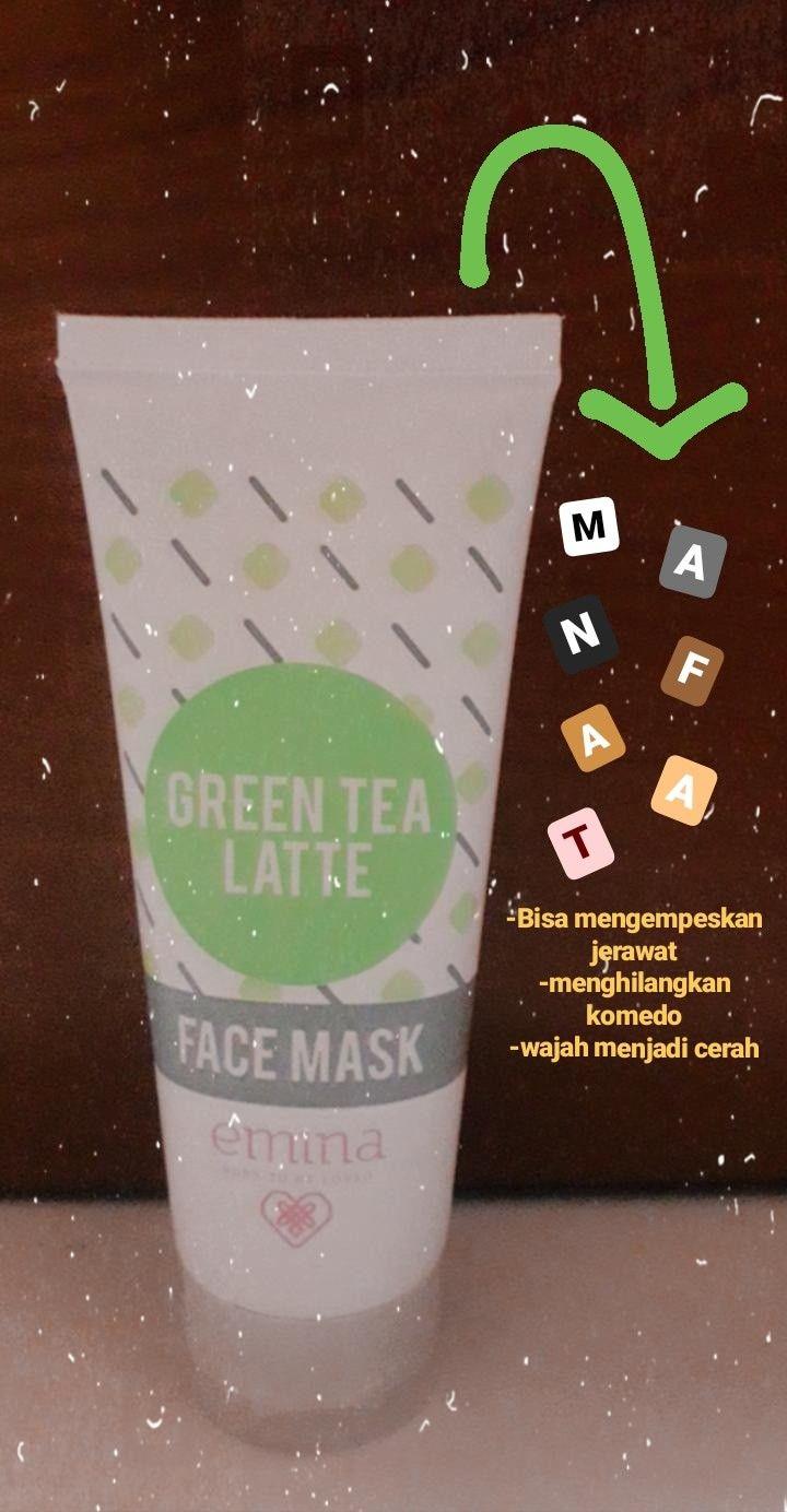Photo of Manfaat Face Mask Emina Green Tea Latte