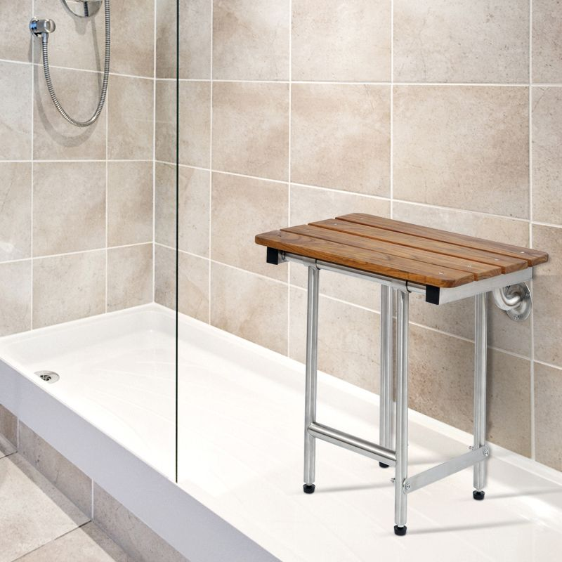 Ada Teak Shower Seat | Home design ideas