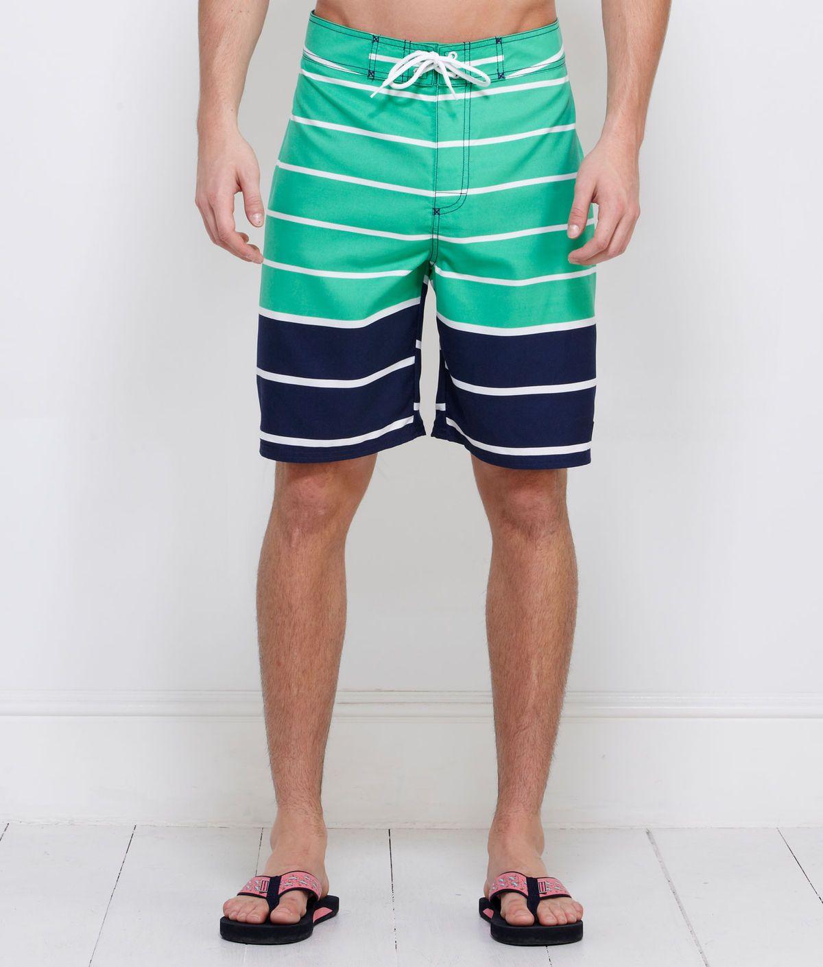 a5f792911153b Men s Swimwear  Nautical Stripe Board Shorts for Men - Vineyard Vines