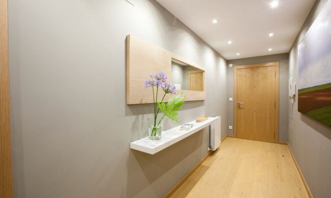 decoracion pasillos largos - Buscar con Google Diseño Pinterest