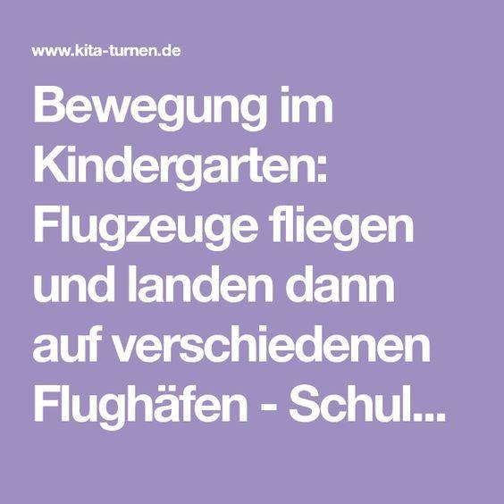 Wir fliegen um die Welt Bewegung im Kindergarten in 2020