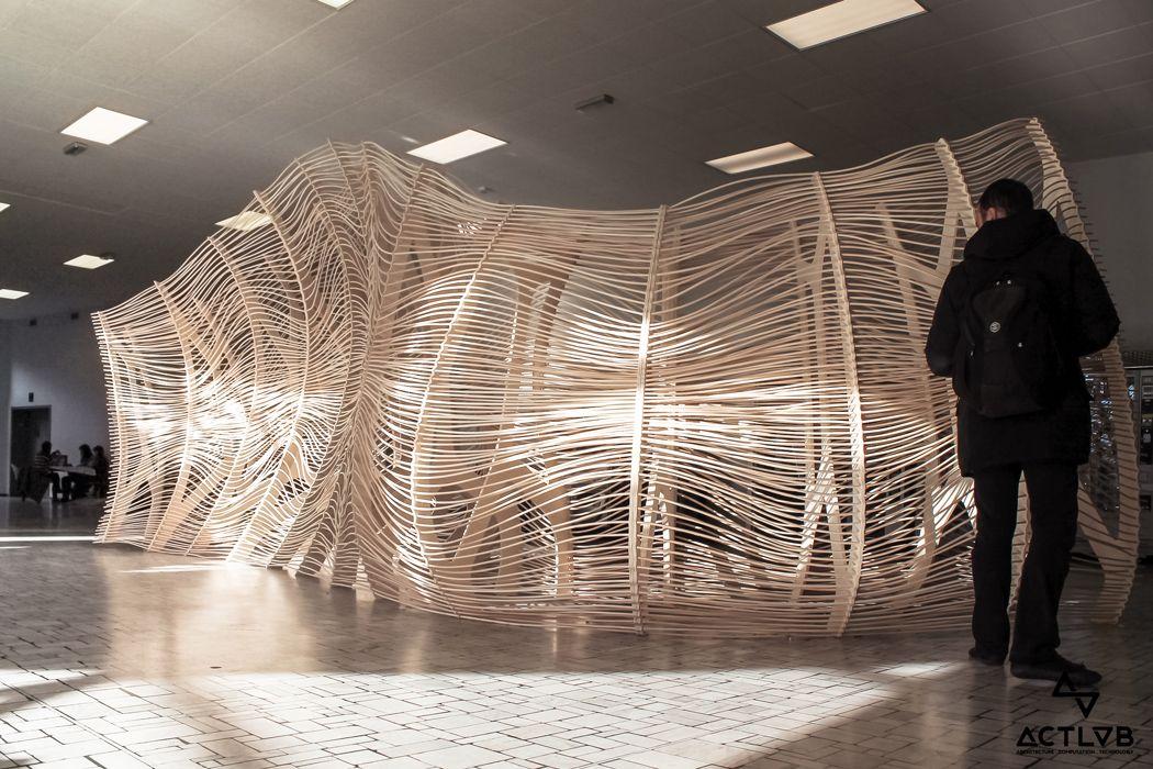 Digital crafting act lab politecnico di milano weave for Interior design politecnico di milano