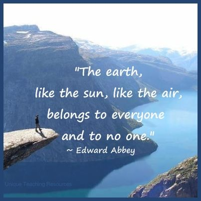 Earth Quotes Inspiration Edward Abbey  Quotes Pinterest Design Inspiration