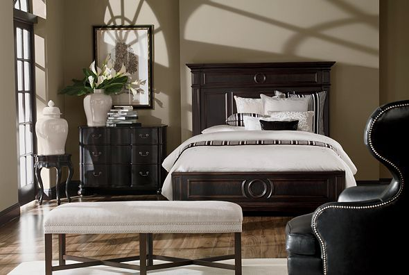 ethan allen furniture interior design lifestyles elegance bedroom. Black Bedroom Furniture Sets. Home Design Ideas