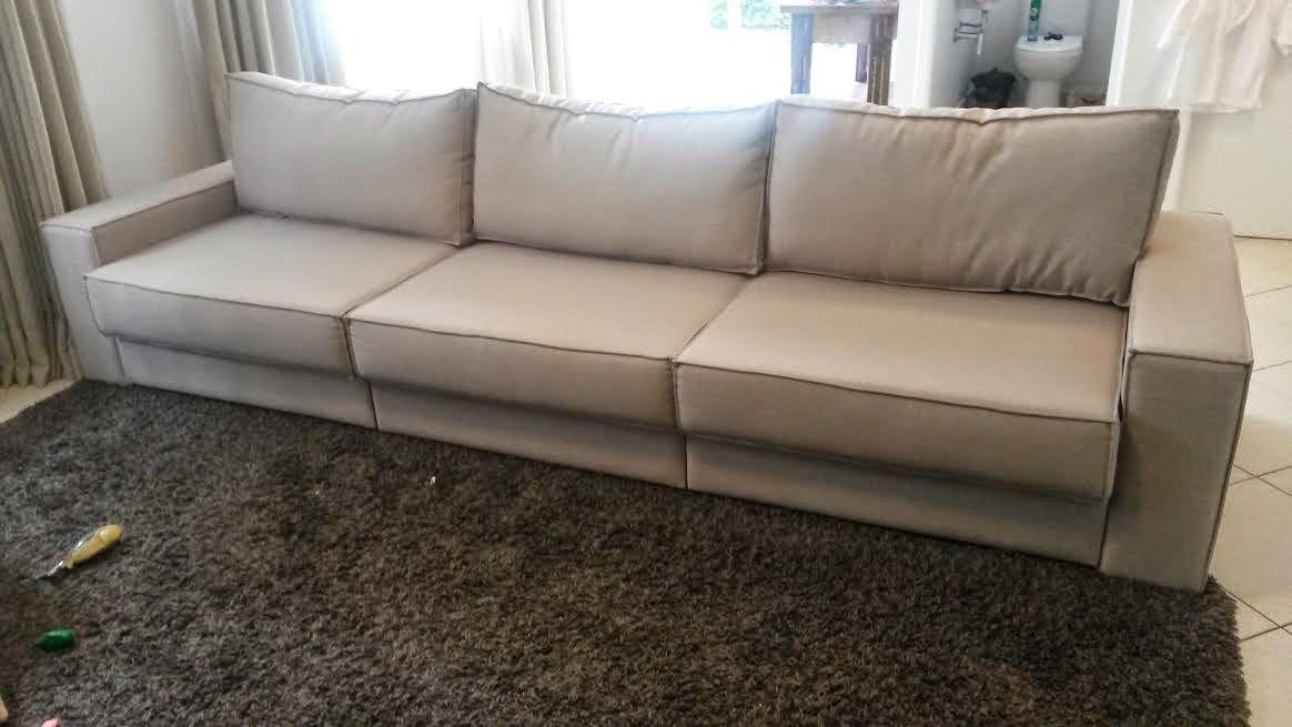 Arte e Interiores : Capa para sofá confeccionada em Algodão de Linho -...